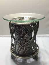 Dragon Fantasy Metal Oil Burner / Tart Warmer with Pack of Soy Wax Tarts