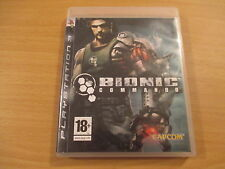 jeu playstation 3 bionic commando
