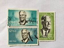1966 South Africa Nice Stamps Set . SC 314-316