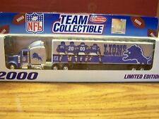 NFL,  2000  Detroit  LIONS,  TEAM  COLLECTIBLES,  White  Rose  Collectibles