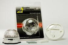 """ONE """"Quake Escape"""" Earthquake Detector with Light and Alarm"""