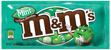 Dark Chocolate Mint M&M's American Candy Sweet m&ms from Candy Junction