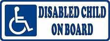 Disabled Child Car Sticker Disability Wheelchair Logo External Mobility Sign