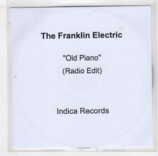 (HB488) The Franklin Electric, Old Piano - 2015 DJ CD