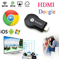 Transmisor de medios de video HDMI Google Chrome Cast Dongle para IPhones Ipad Smart Tv