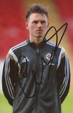 NORTHERN IRELAND & BLACKBURN: CORRY EVANS SIGNED 6x4 ACTION PHOTO+COA*EURO 2016*