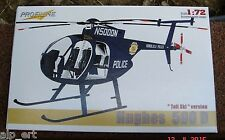 "Hughes MD-500 D ""Tall Ski"" version 1:72 Profiline"