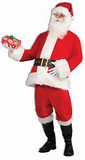 Adult Santa Clause Costume Christmas Holiday One Sz