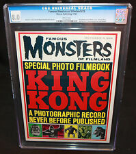 Famous Monsters of Filmland #25 - Tied for 11th highest grade - CGC 8.0 - 1963