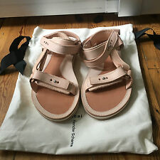 Super Cool Sacai Hender Scheme Sandals Beige Sz 42 with shoe bag