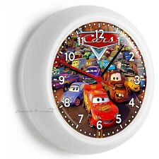 CARS LIGHTNING MCQUEEN MATER TOW TRUCK WALL CLOCK BOYS BEDROOM NURSERY ART DECOR
