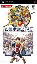 Used PSP Genso Suikoden I II  Japan Import ((Free shipping))