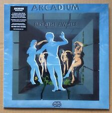 "ARCADIUM - BREATHE AWHILE - RE-ISSUE LP - (still sealed) c/w 3 track 7"" E.P."