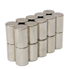 20pcs N50 Super Strong Round Cylinder Magnets 10mm x 15mm Rare Earth Neodymium