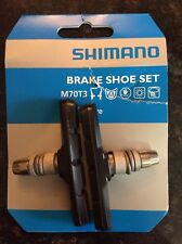 Shimano Bicycle Brake Shoe & Nut Set M70T3