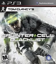Tom Clancy's Splinter Cell: Blacklist - Playstation 3 Game