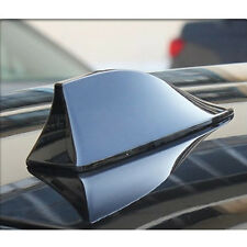 Black Auto SUV Roof Radio AM/FM Signal Shark Fin Style Aerial Antenna Practical