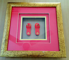 Wooden Clogs (Framed with Hooks)
