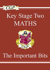 KS2 Maths: The Important Bits (Study Books) Richard Parsons Very Good Book