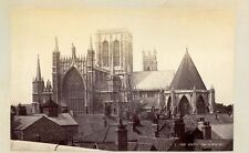 YORK MINSTER CATHEDRAL EXTERIOR 2 VIEWS VINTAGE PRINTS 1 BY FRITH
