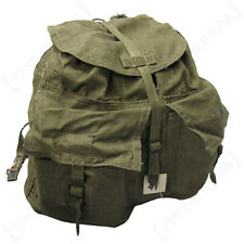 CZECH M60 PACK WITH LEATHER STRAPS - Surplus Rucksack Backpack Bag Sack Military