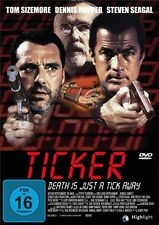 THE TICKER (C) (Steven Seagal, Tom Sizemore, Dennis Hopper,Gary Oldman) DVD NEU