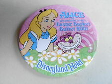 "VINTAGE 3"" PROMO PINBACK BUTTON #92-198 - DISNEY - EASTER BASKET BUFFET 2001"