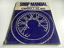 Werkstatthandbuch CB 50 J ,XL 50 (1977)