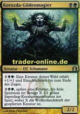 2x Korozda-Gildenmagier (Korozda Guildmage) Return to Ravnica Magic