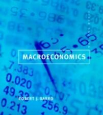Macroeconomics by Robert J. Barro (1997, Hardcover) 5th (Fifth) Edition