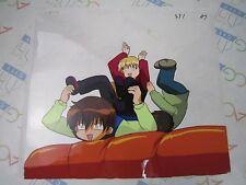 Da! Da! Da! UFO Baby Anime Original Production Cel Celluloid With Line Drawing I