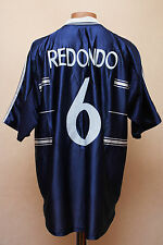 REAL MADRID SPAIN 1998/1999 AWAY FOOTBALL SHIRT CAMISETA JERSEY ADIDAS REDONDO 6