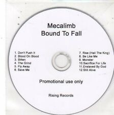 (BW799) Mecalimb, Bound To Fall - DJ CD
