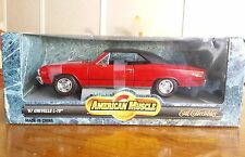 American Muscle Chevrolet 1967 Chevelle L-78 1:18 Scale Diecast Ertl