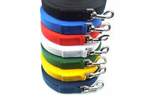 20ft Long Dog Training Leads,Obedience Leads,Leash,Large In Various Colours 25mm