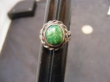 vintage native american old pawn navajo sterling silver turquoise rings