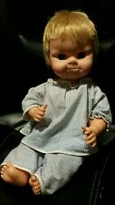 1960's Uneeda squeeker cry baby doll mouth opens eyes blink