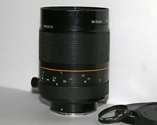Nikon Reflex Nikkor 500mm F/8.0 Ai HN-27 Lens #183313 Latest Model in Good Shape