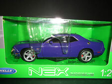 Welly Dodge Challenger SRT 2013 Purple 1/24