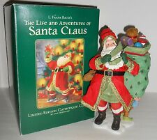 Possible Dreams LIFE and ADVENTURES OF SANTA CLAUS Old World Clothtique 2005