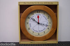 NEW 7 Day of Week Clock Date DAYCLOCK Retirement DAYCLOCKS RV  --  Alzheimers