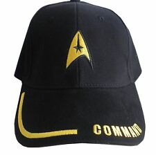 "Star Trek baseball Caps - ""COMMAND"""