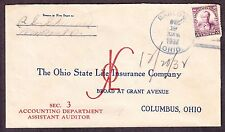 Ohio State Life Insurance Company Advertising Cover (-487)