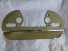 MG TC, TD, TF CARBURETTOR HEATSHIELD, BRAND NEW (GAC1036)