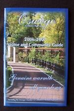 2006 - 2007 Oswego Illinois Visitor & Community Guide
