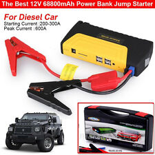 68800mAh Car Jump Starter Emergency Charger Booster Power Bank Battery 2016 New
