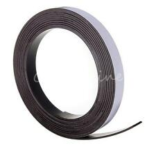 "3M Flexible Self Adhesive Magnetic Tape Magnet Roll Strip 12.7mm (1/2"") Wide"