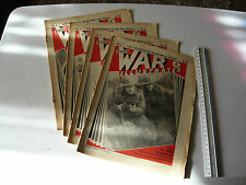 WAR ILLUSTRATED MAG No 86 APRIL 25th 1941 GREEK SOLDIERS READY TO MEET THEIR FOE