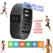New 2016 OLED Fitness Tracker Smart Watch Activity Monitor Wristband Bracelet UK