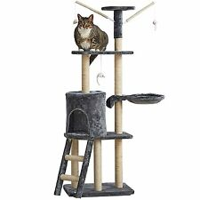 Cat Activity Centre Scratching Post Toy Bed Kitten Scratcher Tree Tower